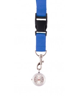 Schlüsselband Uhr Blau NurseXL