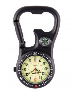Karabiner Uhr NOC463 Schwarz NurseXL