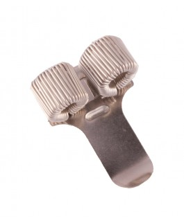 Stift-Halter Doppel Silber NurseXL