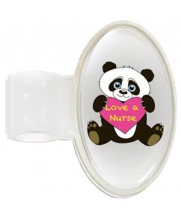 Stethoskop Namensschild Panda NurseXL
