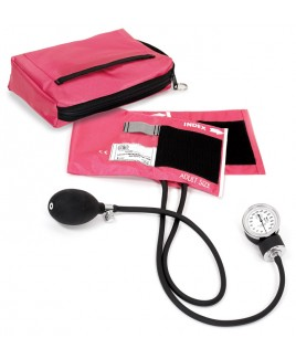 Blutdruckmessgerät mit Tragetasche Rosa