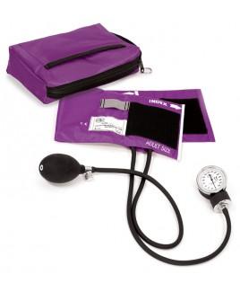 Blutdruckmessgerät mit Tragetasche Lila