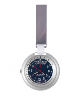 Swiss Medical Uhr Professional Line Silber Blau - Limited Edition