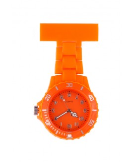 Neon Schwesternuhr Orange