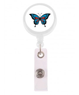 Ausweis-Jojo Schmetterling